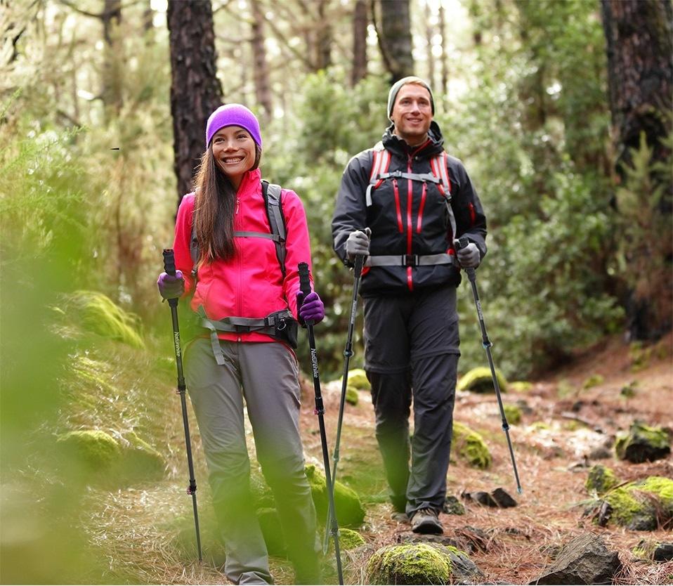Naturehike ไม้เท้าเดินป่า เบามาก ... สำหรับมืออาชีพ